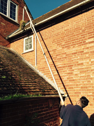gutter cleaning oxted